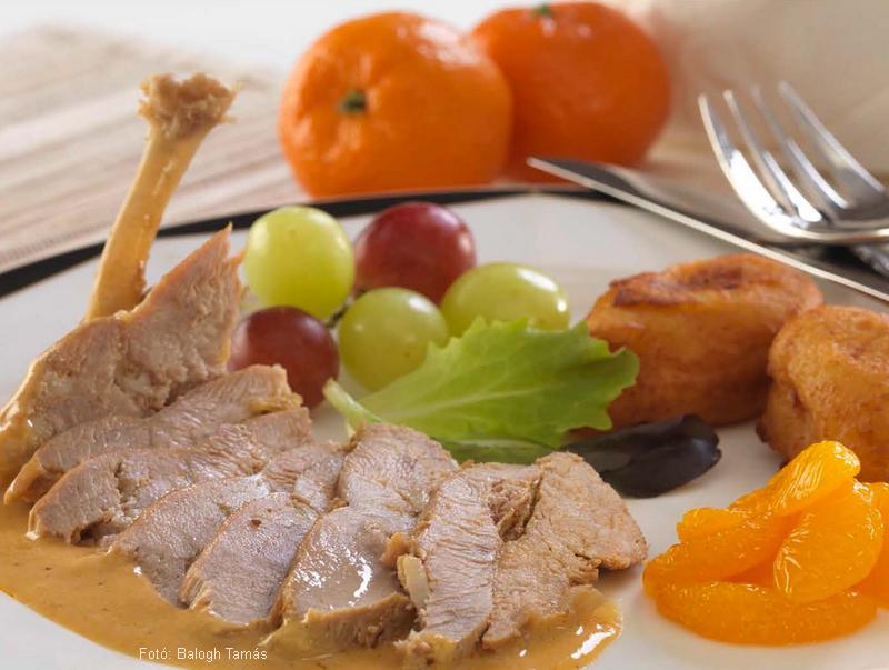 Mandarinos fácánmell  -  Novák Ferenc mesterszakács receptje