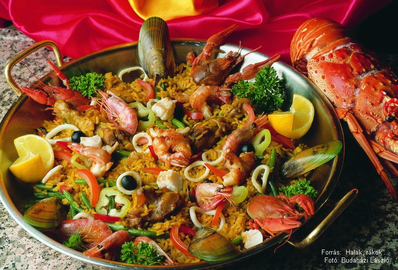 Paella tengerész módra