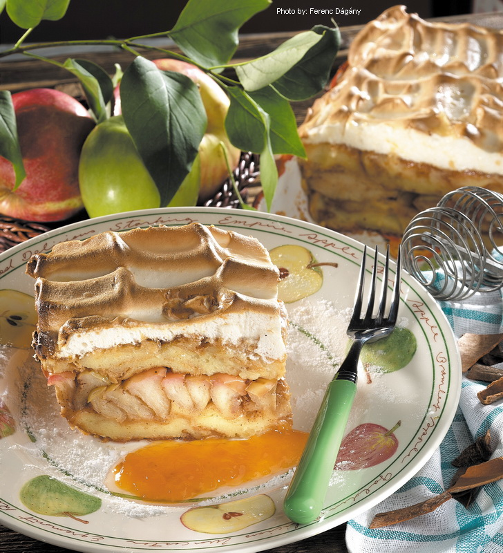 Layered Apple Cake  -  (Máglyarakás)
