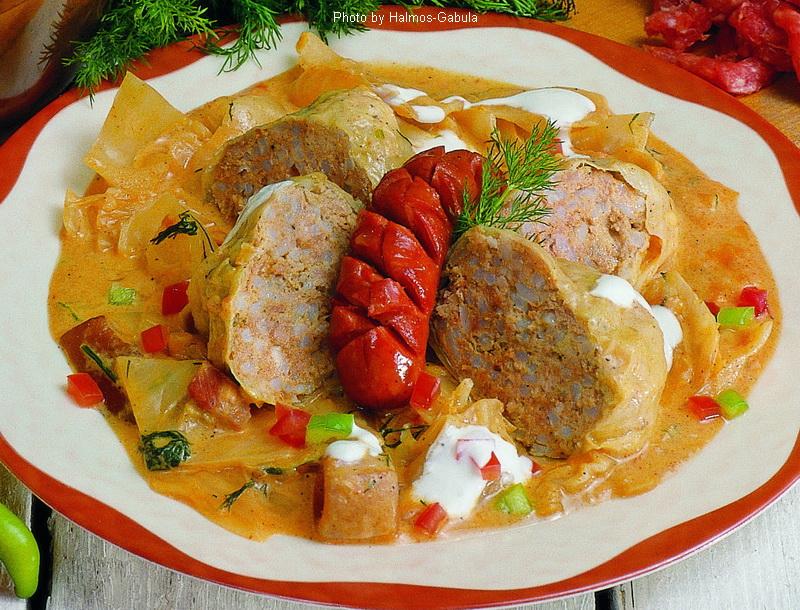 Stuffed Cabbage as in Bácska  -  (Bácskai töltött káposzta)