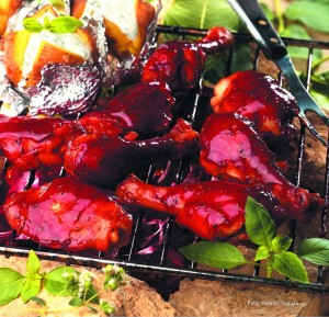 Barbecue csirkecomb - Receptletöltés