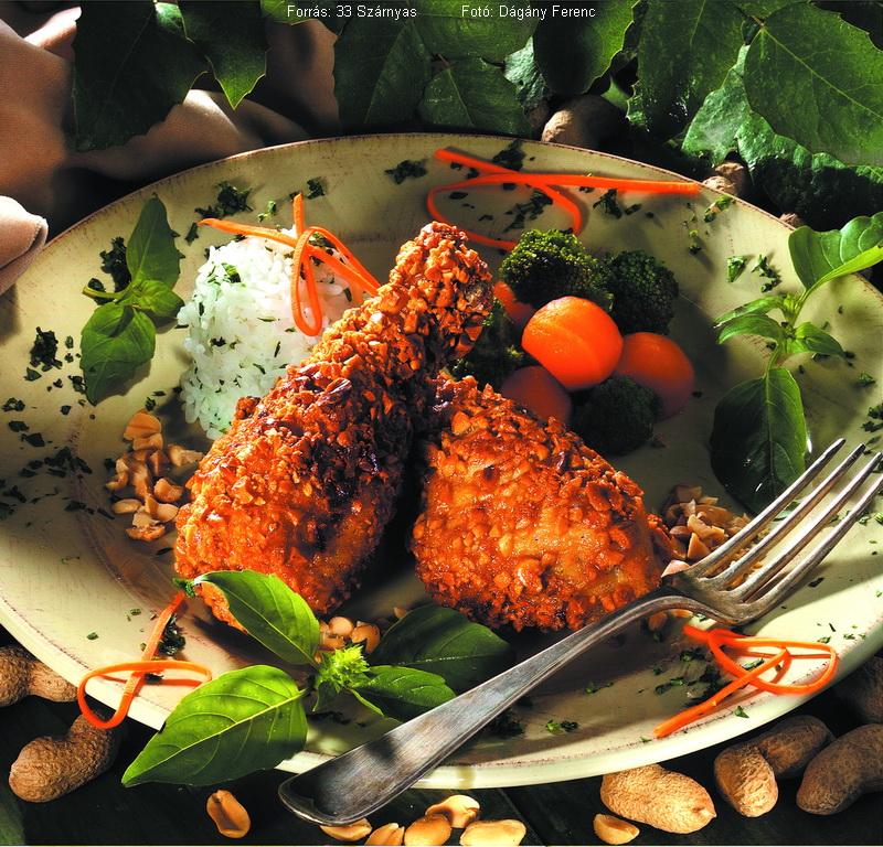 Mogyoróbundás csirke
