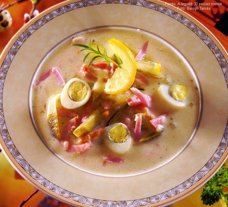 Tárkonyos húsvéti leves