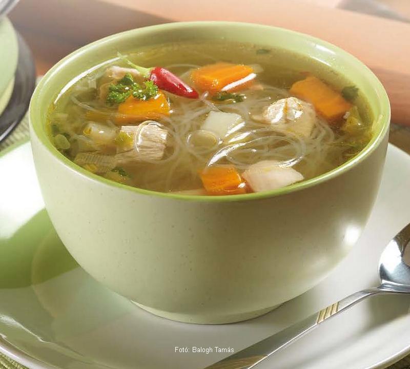 Thai csirkehúsleves  -  Bodza receptje