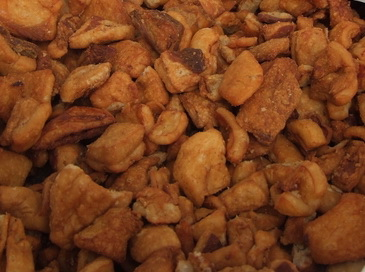 Pork Cracklings  -  (Töpörtyű)