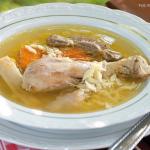 Tyúkleves mama módra  –  Papp Gergő és Kupeczki Dóra receptje