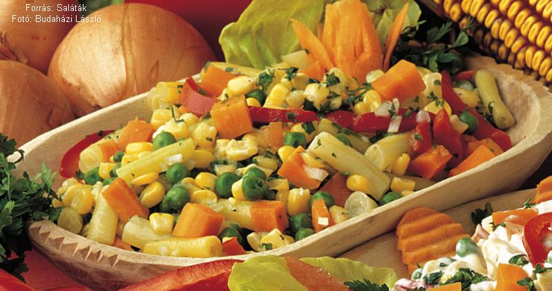 Ecetes mexikói saláta