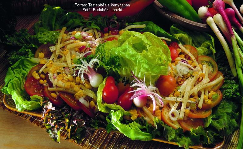 Fejes saláta könnyű vacsorának