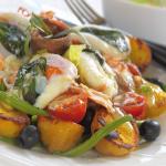 Lazacos nizzai saláta, könnyű tárkonyos majonézzel  –  Gordon Ramsay receptje