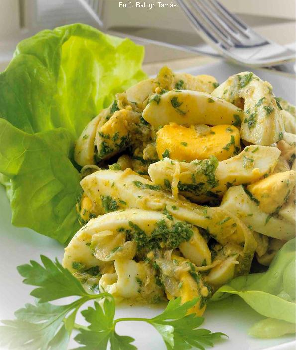 Lengyel tojássaláta  -  Unger Károly mesterszakács receptje