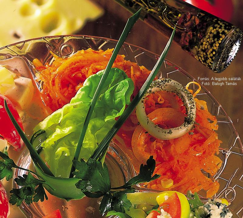 Magyaros savanyúkáposzta-saláta