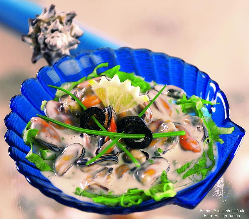 Majonézes kagylósaláta