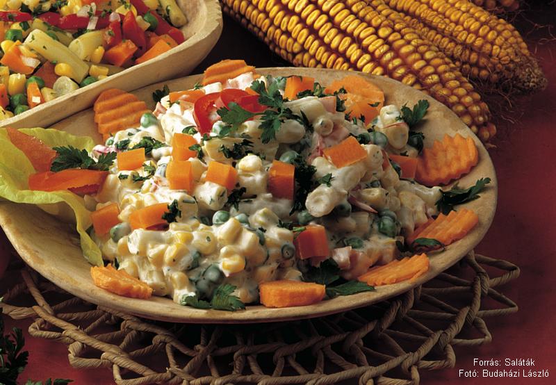 Majonézes mexikói saláta