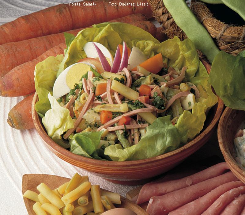 Vitaminos zöldbabsaláta