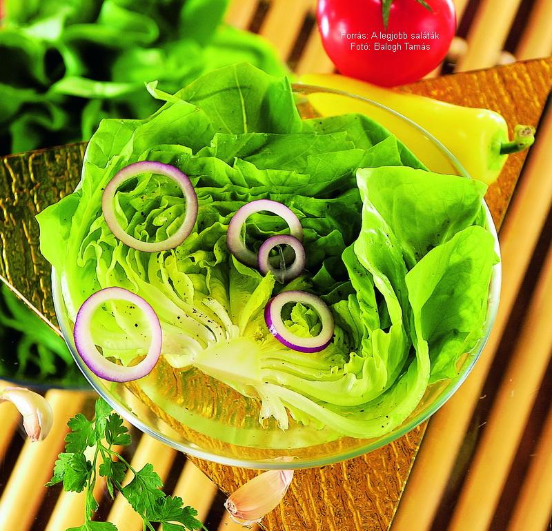 Ecetes (magyaros) fejes saláta
