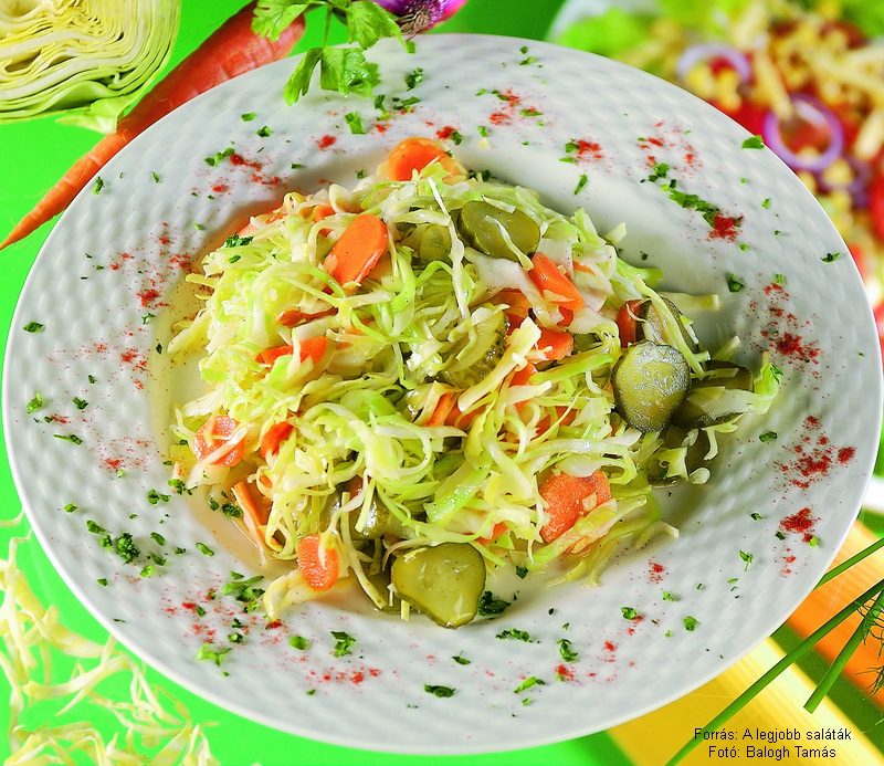 Falusi saláta
