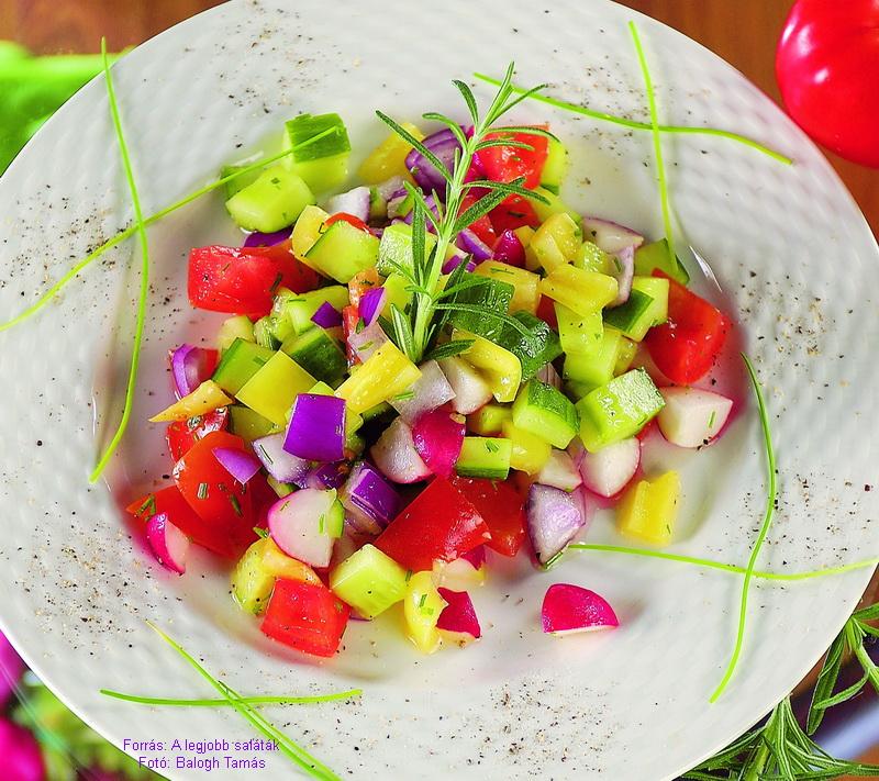 Fitnesz-saláta