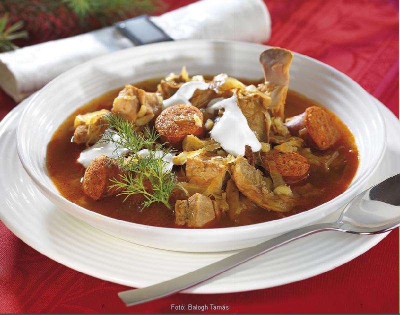 Kárpátaljai karácsonyi leves  -  készítette Nemeskövi Dénes mesterszakács