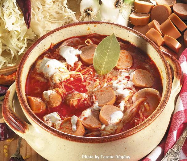 Sauerkrautsuppe  -  (Korhelyleves)