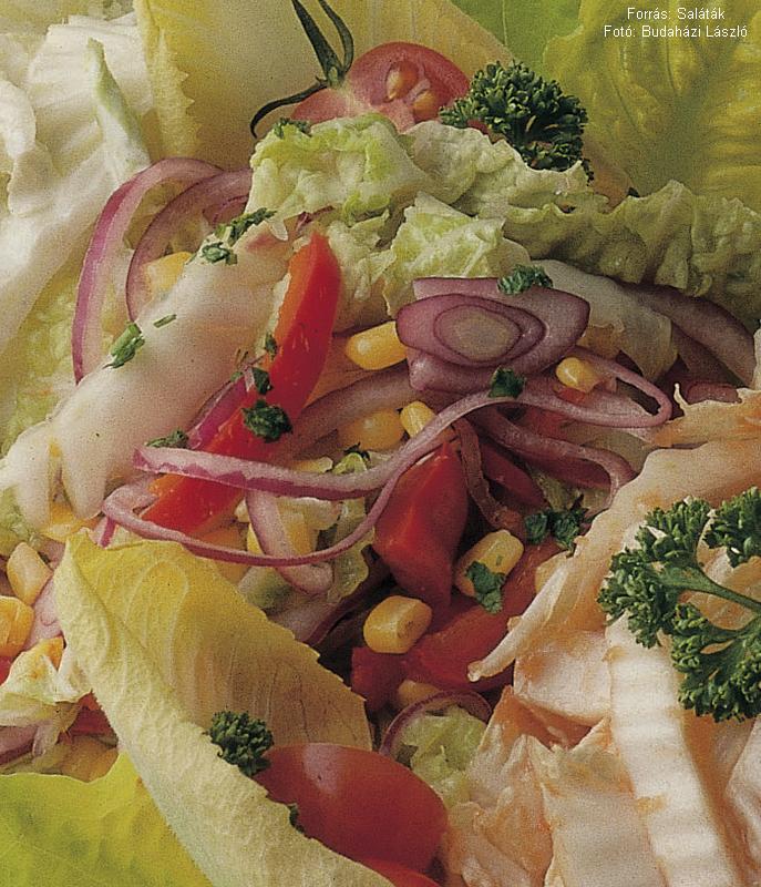 Kukoricás kínaikel-saláta