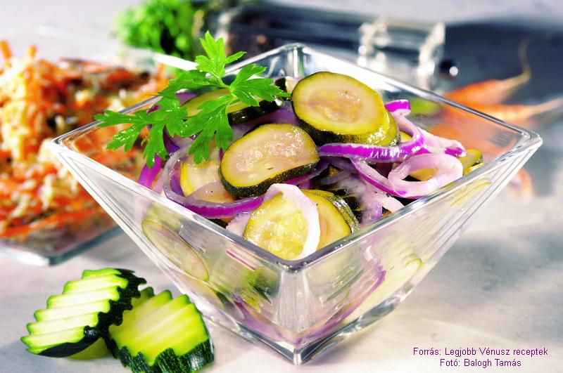 Sültcukkini - saláta