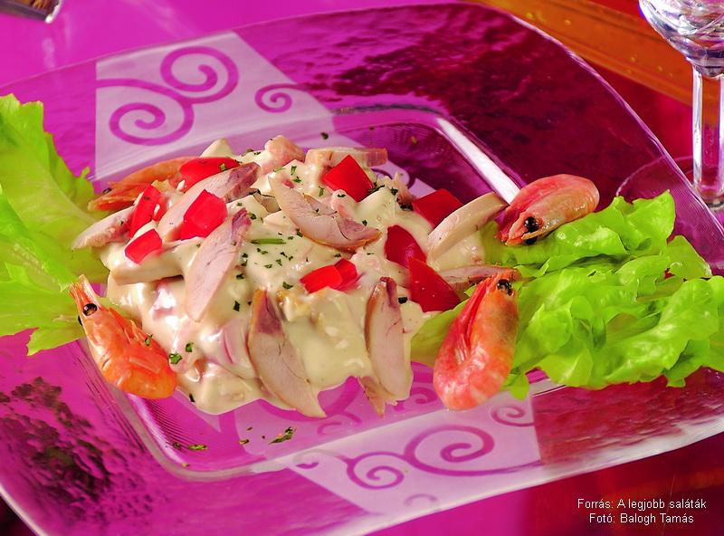 Csekonics-saláta