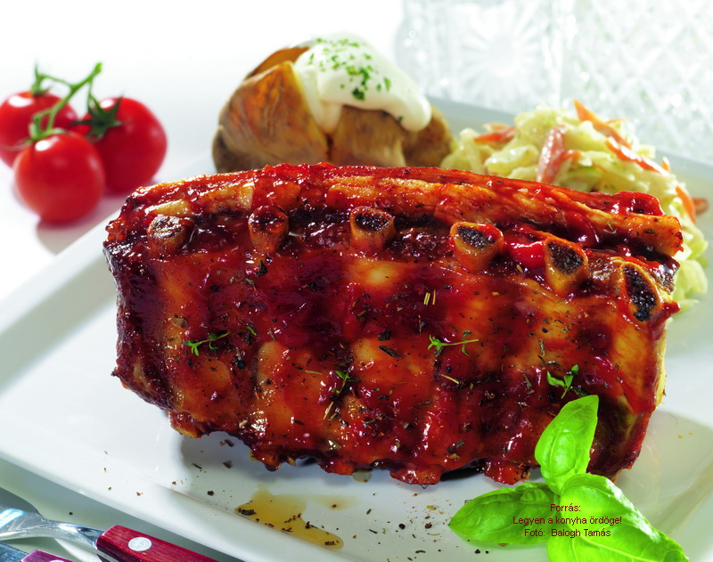 Barbecued Ribs - (Barbecue oldalas)