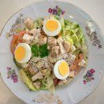 Csirkés Caesar-saláta (Cézár saláta)– készült az OnLive© főzőiskola 10. adásában