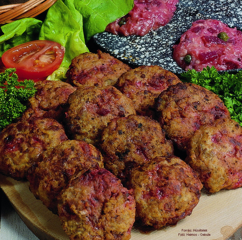 Beet Patty - (Céklás vagdalt)