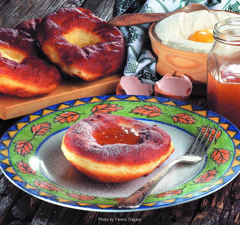 Beignet de Mardi gras  -  (Farsangi fánk)