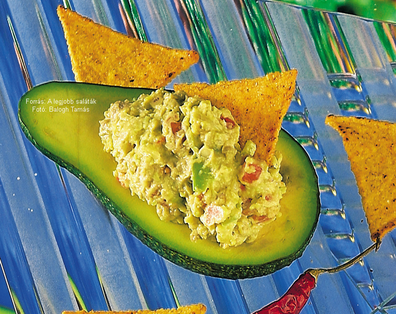 Guacamole  (mexikói – ejtsd: gvákámóle)