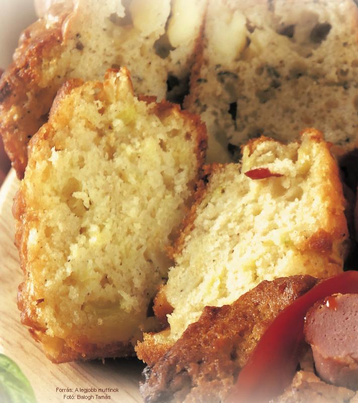 Hagymás muffin