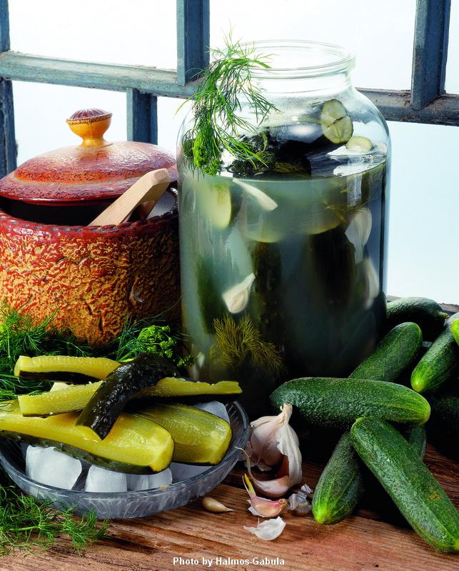 Concombres fermentés  -  (Kovászos uborka)