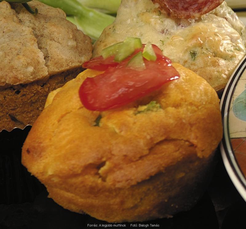 Piros Aranyos muffin
