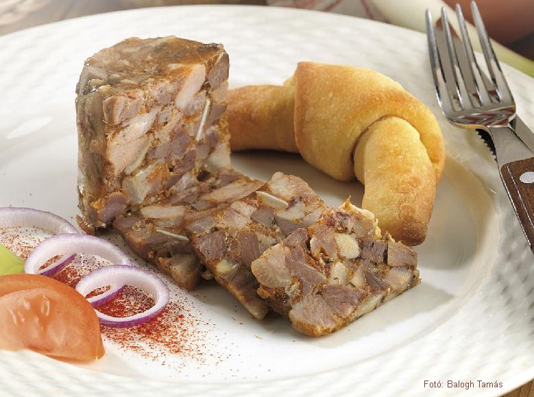 Poharas disznósajt  -  készítette Nemeskövi Dénes mesterszakács