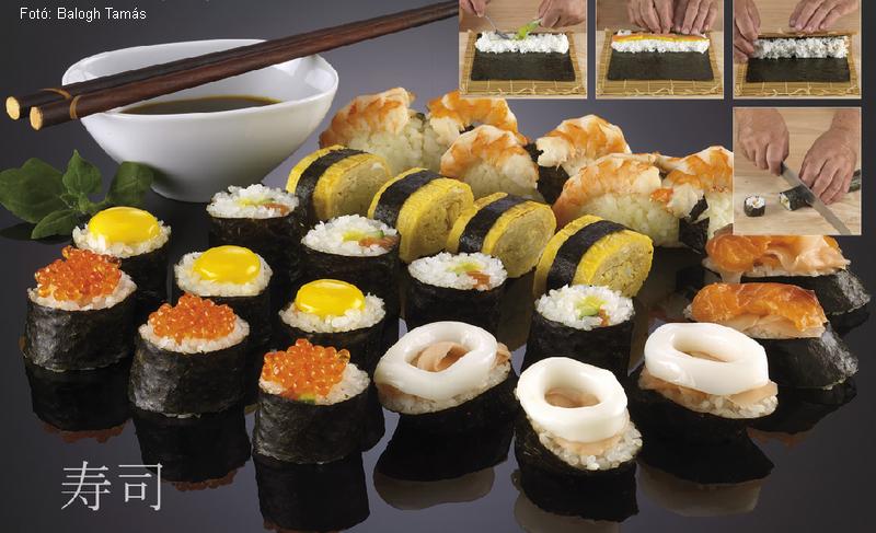 Szusi (sushi) alaprecept  -  készítette Nemeskövi Dénes mesterszakács