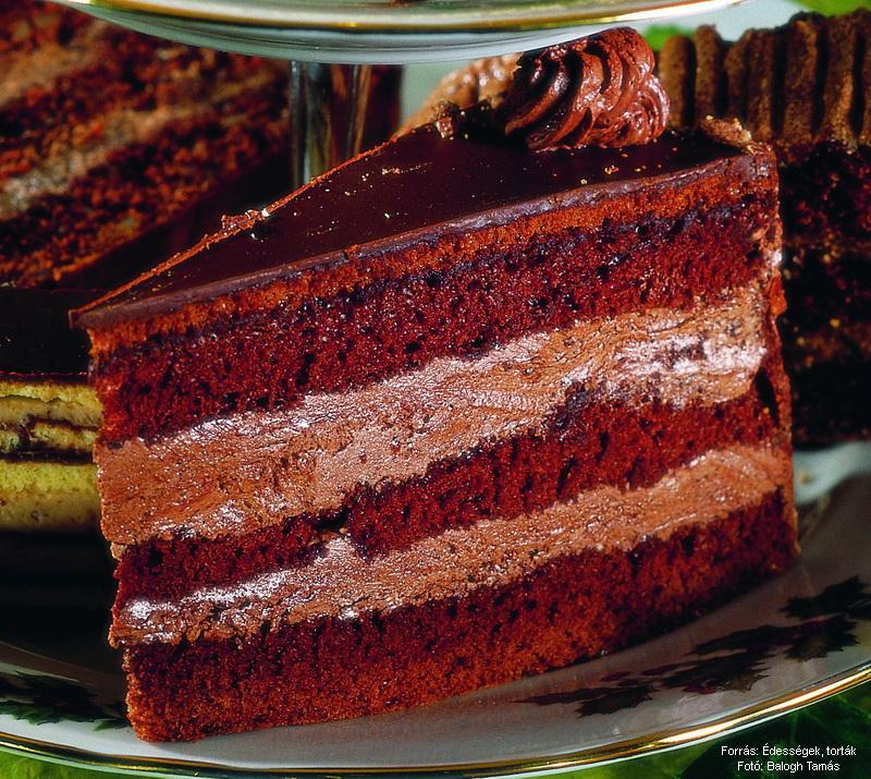 Csokoládéhabos torta