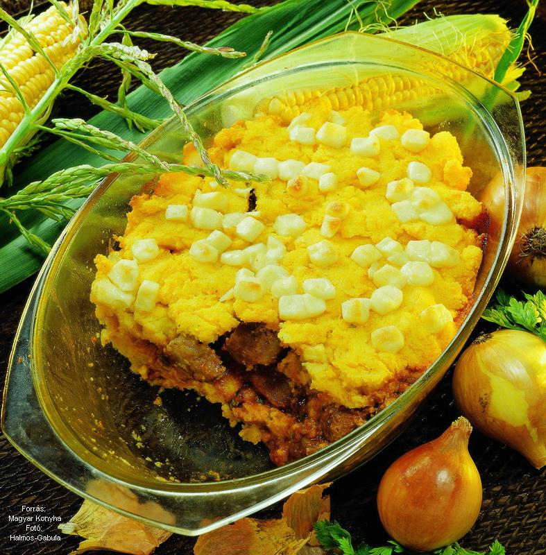 Boros marharagu polentában sütve