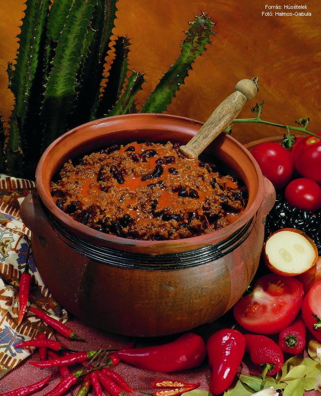 Chili con carne (ejtsd csilikonkárne)