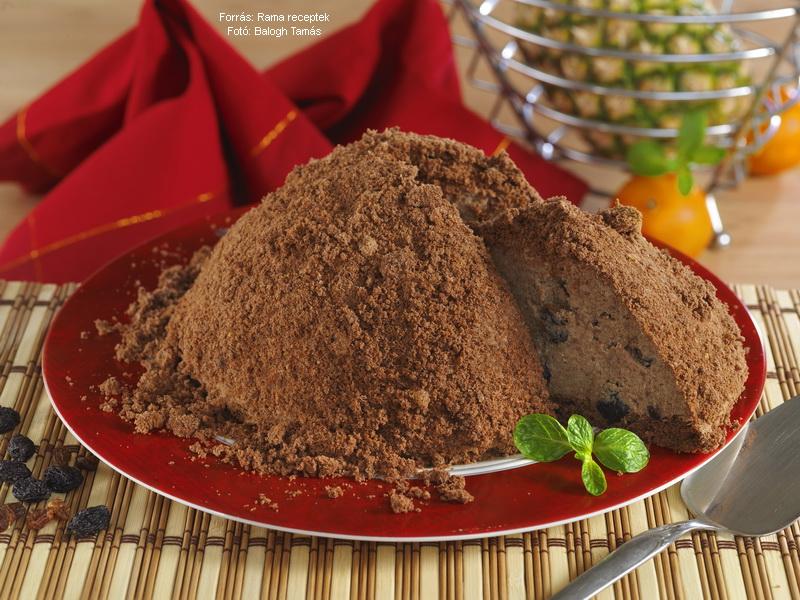 Hangyaboly torta (vakondtúrás torta)