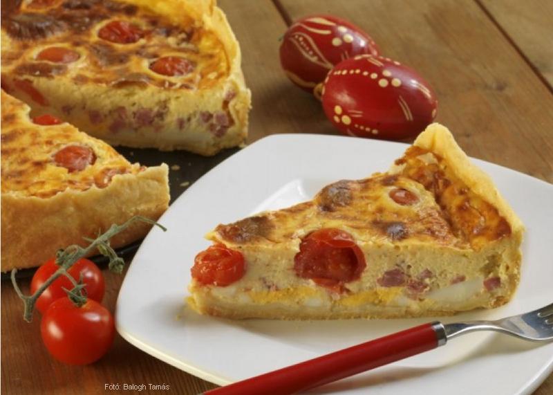 Húsvéti sonkás pite (pie - ejtsd páj)