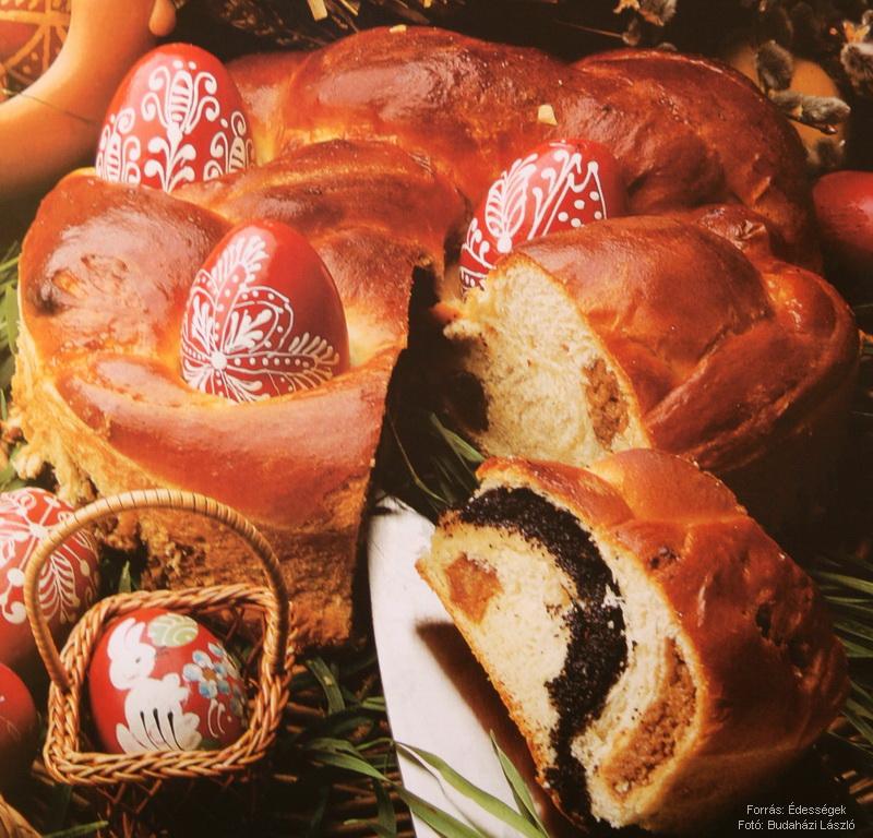 Húsvéti töltött kalács