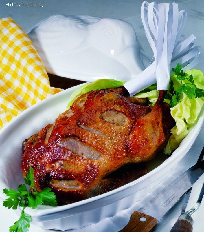 Rôti de canard fabuleux  -  (Mesés kacsapecsenye)