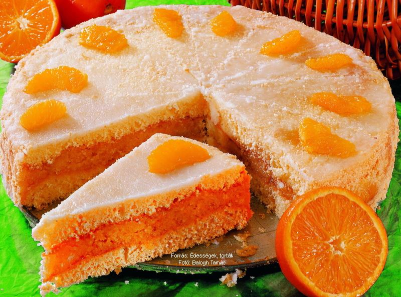 Narancsos puncstorta