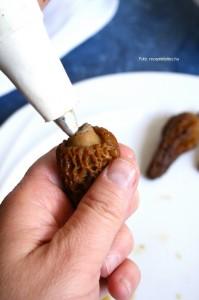 Csirkemájjal töltött rántott kucsmagomba kápiás rizzsel  2