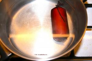 Erőleves szarvasgombás tojáskocsonyával és zöldségrőzsével 4