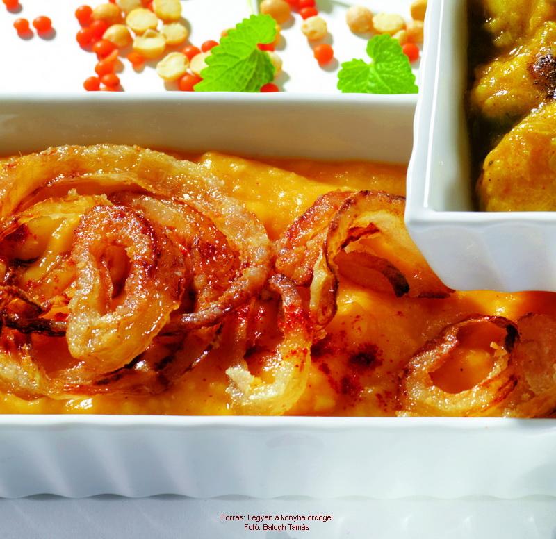 Lyonnaise Yellow Split Peas - (Lyoni sárgaborsó-főzelék)
