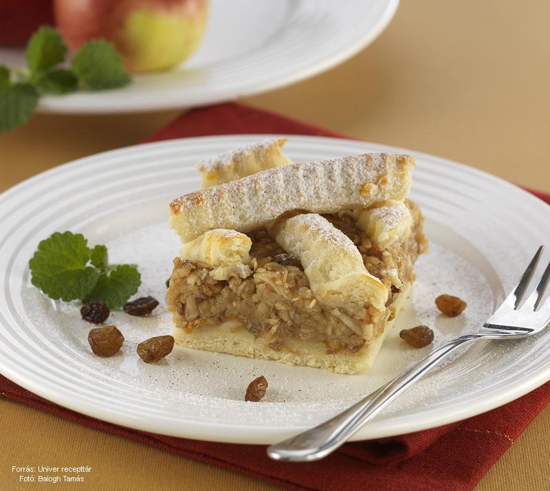 Stájer almás pite