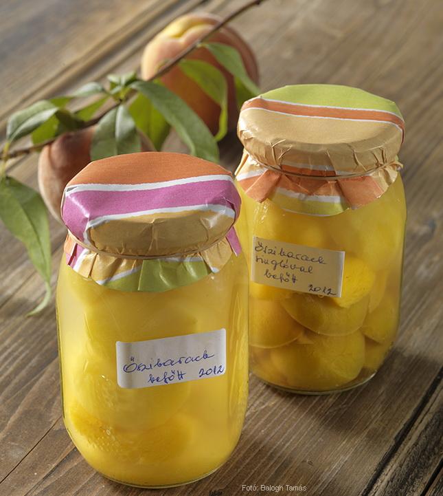 Őszibarackbefőtt hagyományosan és cukorbetegeknek - készítette Nemeskövi Dénes mesterszakács