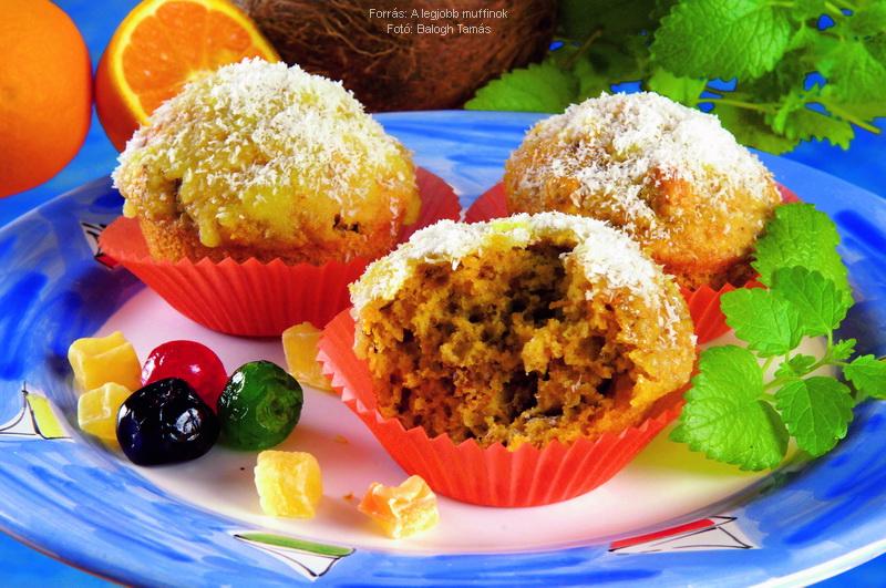"""""""Pina Colada"""" muffin"""